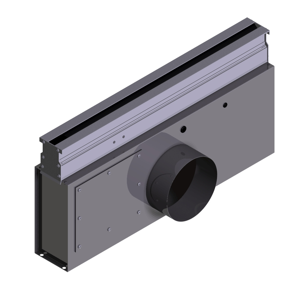 Linear Diffusers Hvac : Electronic variable volume linear diffuser vln rickardair