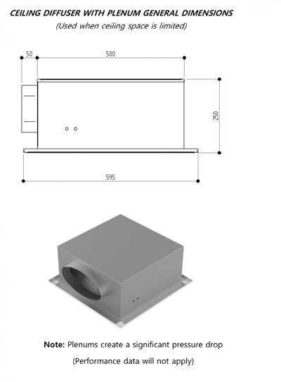 Ceiling Diffusers Installation Details : Ceiling diffuser mounting methods rickardair
