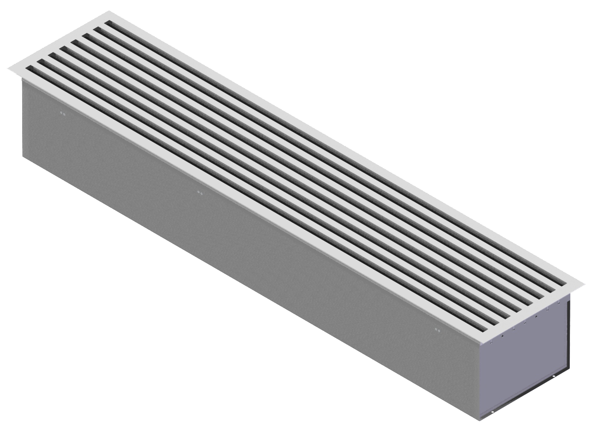 Curved Linear Diffuser : Constant volume linear ceiling diffusers cln rickardair