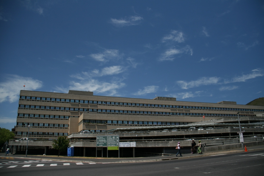 Groote Schuur Public Hospital Cape Town South Africa