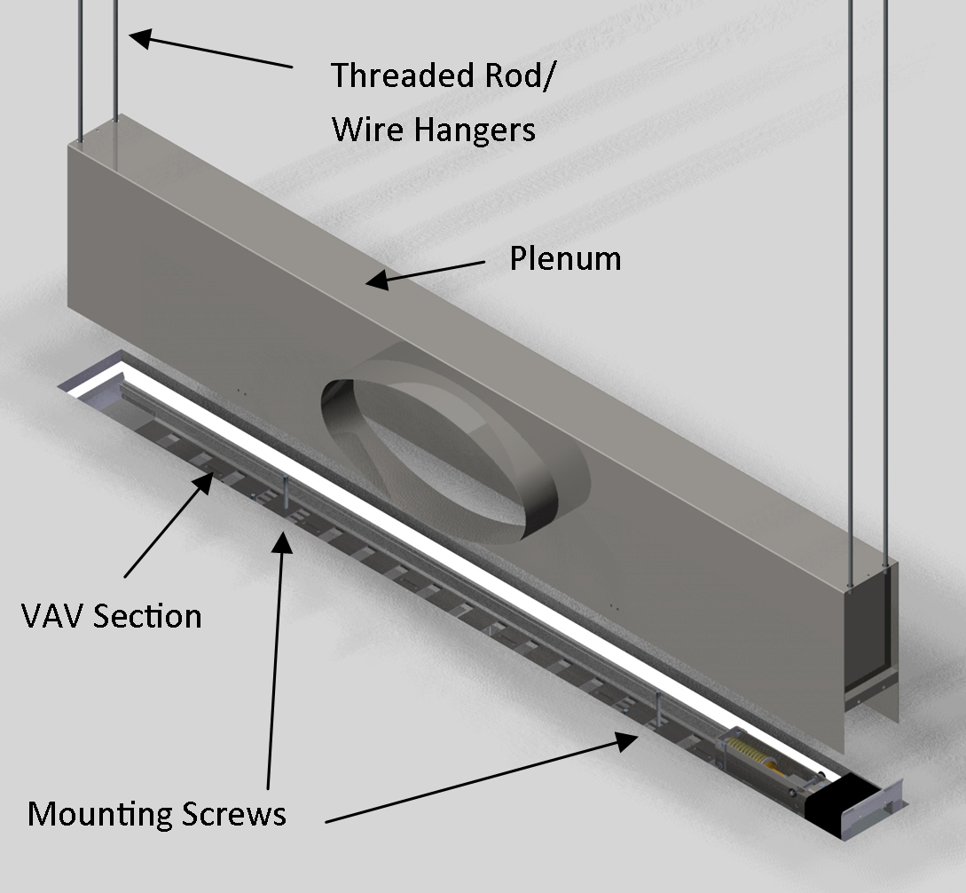 Linear Diffuser Cad Detail : Exposed ductwork ceiling what are the advantages of a