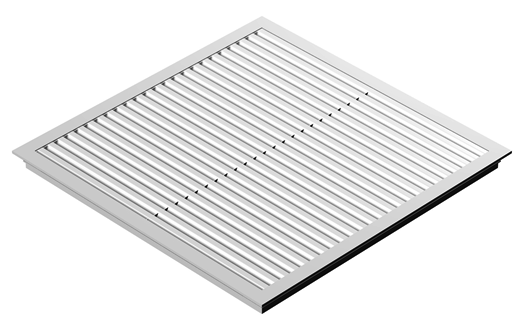 SUSPENDED CEILING GRILLS 595 X 595 Plastic white// various designs!