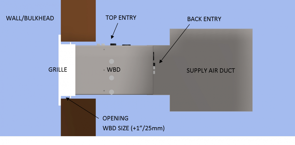 Electronic Variable Volume Wall Bulkhead Diffuser Wbd1 also Bobwelchelectricaldesign moreover Transmission as well New Ezvav furthermore . on electric hvac